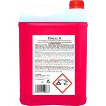 Prostředek čistící, TORSAN K, na minerální usazeniny, kyselý, tekutý, 5 L