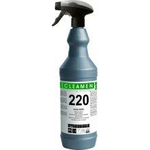 Leštič, CLEAMEN 220, na nerez, s rozprašovačem, 1 L