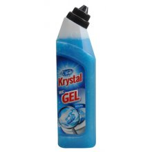 Gel, KRYSTAL GEL WC, modrý, 750 ml