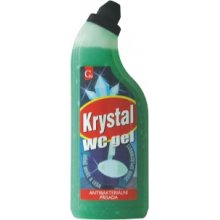 Gel, KRYSTAL GEL WC, zelený, 750 ml