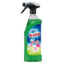 Osvěžovač olejový, KRYSTAL FRESH, rozprašovač, zelený, 750 ml
