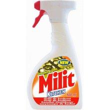 Prostředek čistící, MILIT, na kuchyně, rozprašovač, 500 ml