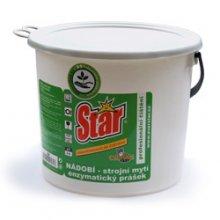 Everstar, NÁDOBÍ, enzymatický prášek, Zelený úklid, alkalický, 10 kg