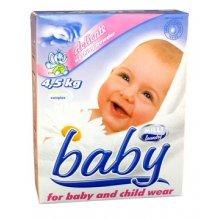 Prášek prací, MILLI BABY, na dětské a kojenecké prádlo, bezfosfátový, 4,5 kg