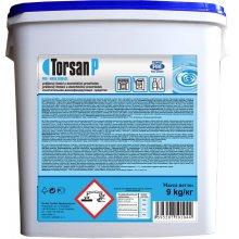 Prostředek odmašťovací, TORSAN P, alkalický, dezinfekční, kbelík, prášek, 9 kg