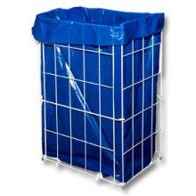 Koš drátěný odpadkový, skládací, 60 l