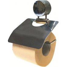 Držák toaletního papíru, chromový s krytem