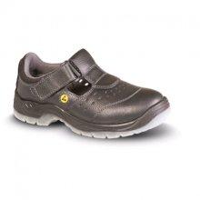 VM Import, Obuv sandál, pracovní, BERN S1, s ocel. tužinkou, černý, DOPRODEJ