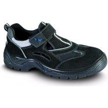 VM Import, Obuv sandál, pracovní, AMSTERDAM O1,černý, vel. 37 - 48