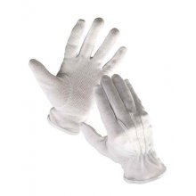 Červa BUSTARD rukav. bavlna s PVC terčíky - 10