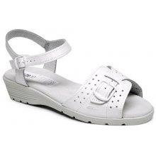 Pracovní obuv DÁMSKÁ, bílé sandále 5137