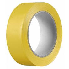 Páska maskovací, PVC, žlutá, 50mm x 33m