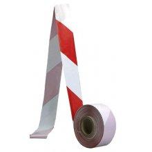CS, Bezpečnostní páska červeno-bílá, 500 m