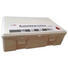 Autolékárnička v krabičce, bílá, plast