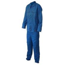 Oblek pánský kyselinovzdorný, kalhoty pas+blůza, modrý