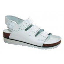 MPM, Dámské pantofle, 3 přezky, zap. za patou, klín