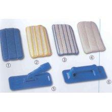Eastmop Mikromop 27x14 cm, suchý zip, bílo/modrý