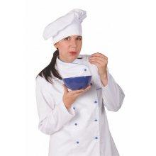 Čepice kuchařská BARET, 0733, BA 245, obvod hlavy, bílá