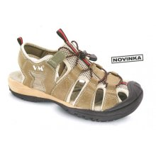 VM Import, Obuv sandál, outdoorový, AUSTIN, olivový, vel. 36 - 48