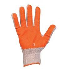 Červa, Rukavice polomáčené SCOTER, oranžové - 10,5