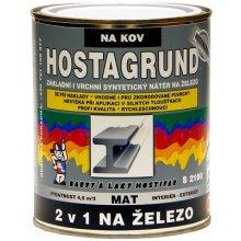 HOSTAGRUND kovářská barva S2160/0950, 600 ml, kovářská čerň, DOPRODEJ