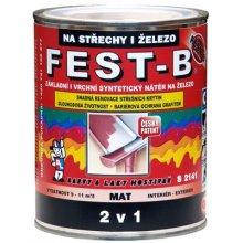 FEST-B 2v1 na střechy S2141/0280, 800 ml, hnědý