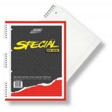 Blok speciál BOBO A4 čtverečkovaný