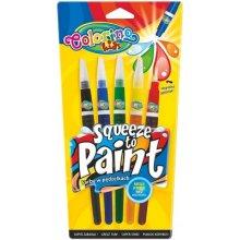 Colorino barvy se štetcovým hrotem, 5 barev