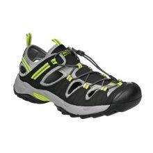 Bennon, Obuv sandál, pracovní, LOMBARDO, černo - zelený, vel. 37 - 47