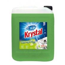 Prostředek čistící, KRYSTAL, na nádobí, Lemongrass, 5 L