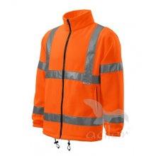 Adler, Mikina HV Fleece Jacket, reflexní