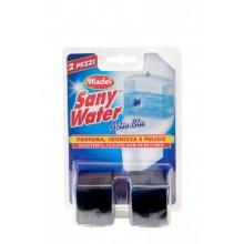 Kostky do nádržky, PULIRAPID WC ACTIVE BLU, proti usazování vodního kamene, 2 ks