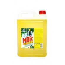 Prostředek čistící, MILIT UNIVERZÁL, koncentrát, žlutý, 5 L