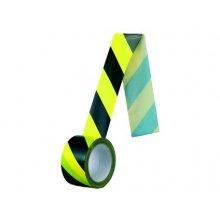 CS, Páska samolepicí černo-žlutá PROTISMĚRNÁ, šířka 60mm, délka 60m
