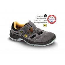 VM Import, Obuv sandál, pracovní, BERN S1, šedý, vel. 36 - 48