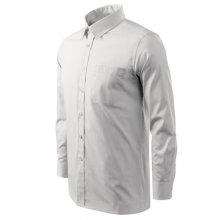 Adler, Košile pánské Shirt long sleeve, bílá 3 XL