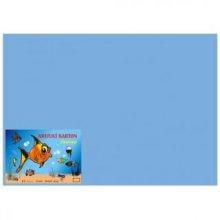 Karton kreslicí barevný A4 180g / 50l modrý