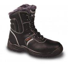 VM Import, Obuv poloholeňová, zimní, SHEFFIELD S3, černá, vel.36 - 48