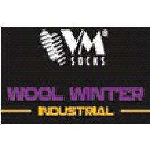 VM Import, Ponožky vlněné, zimní,1ks, vel. 39-42 - 43-46