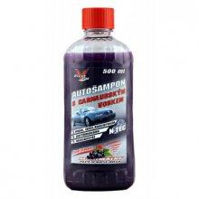 Autoll, CLEANFOX, Autošampon s voskem N-TEC, 500 ml
