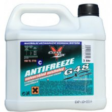 Autoll, CLEANFOX, Antifreeze G48, univerzálně mísitelný, 3 l