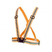CS, Výstražný kříž elastický, EN 13356, oranžový
