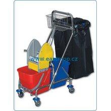 Eastmop, úklidový vozík CLAROL PLUS IV