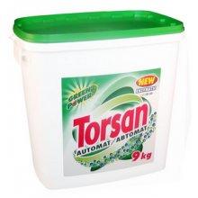 Prášek prací, TORSAN AUTOMAT GREEN POWER, univerzální, plastový kbelík, 9 kg
