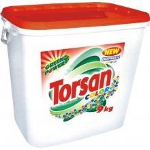 Prášek prací, TORSAN COLOR POWER, na barevné prádlo, plastový kbelík, 9 kg