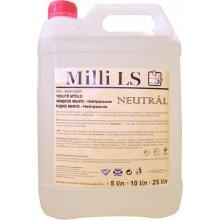 Mýdlo tekuté, MILLI LS NEUTRAL, bez parfému, 5 L