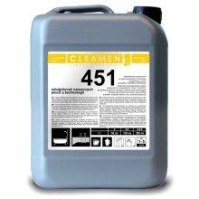 Odvápňovač ploch, CLEAMEN 451, na nerez, 6 kg