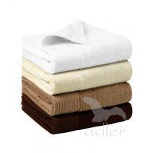 Adler, Bamboo Bath Towel, bílá, 70 x 140 cm