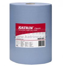 MT, Utěrka průmyslová Katrin Plus XXL 2vr., 380 m, modrá