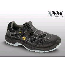 VM Import, Obuv sandál, pracovní, BERN S1 ESD, černé,, vel. 36 - 48